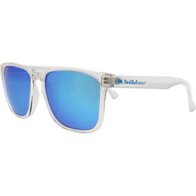 Red Bull SPECT Leap Sunglasses shiny x'tal clear/smoke-turquoise mirror